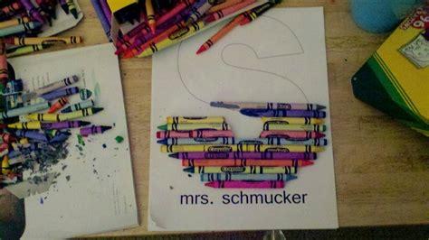 buy    diy crayon monogram
