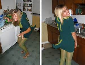 DIY Dinosaur Costume Adult
