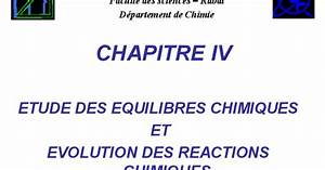 Cours Thermochimie Chapitre Iv