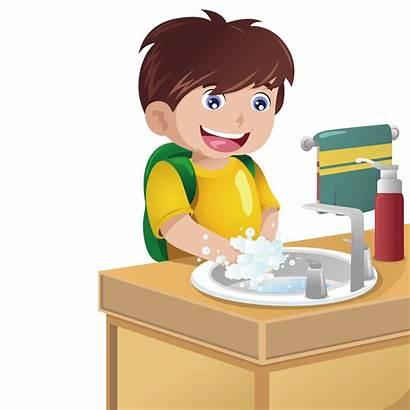 Washing Hands Clipart Boy Cartoon Clip Homework