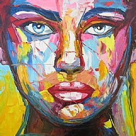 tableau moderne portrait
