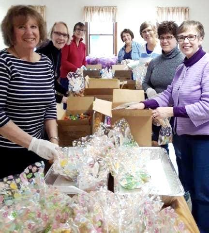 easter preparations at the soup kitchen benedictine