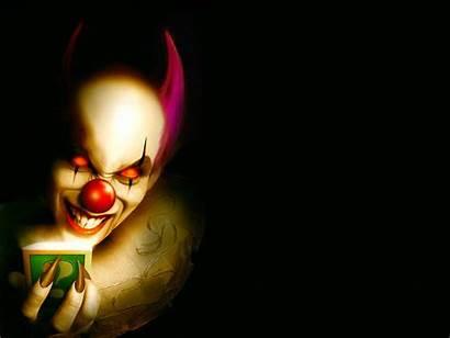 Clown Scary Skull Wallpapers Evil Desktop Face