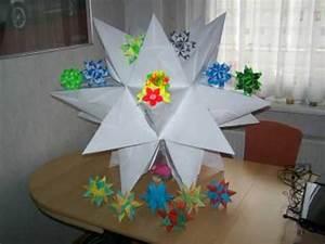 Weihnachtsstern Selber Basteln : bascetta stern origami weihnachtsstern video inkl ~ Lizthompson.info Haus und Dekorationen