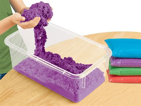 colored kinetic sand colored kinetic sand at lakeshore learning