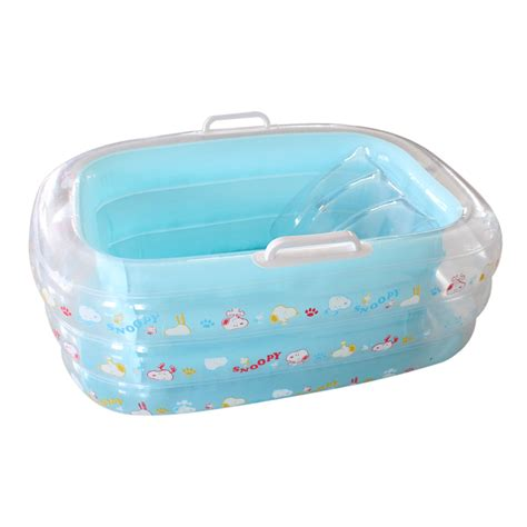 baby bath tub inflatable bathtub for kids with pump inbaby