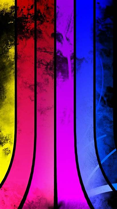 Abstract Colorful Android Stripes Iphone Wallpapers Curves