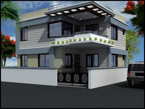 Feels Inside Modern House Design Small Duplex  Home Plans