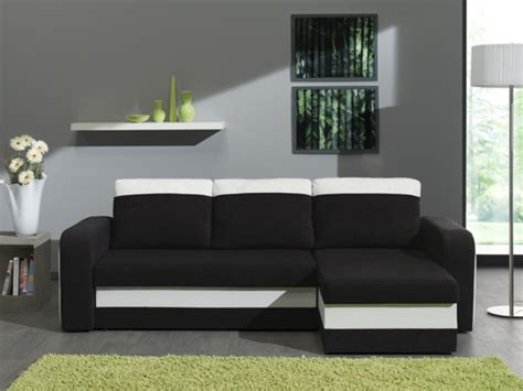 canapé d angle basika canape d 39 angle reversible et convertible hercule pu blanc