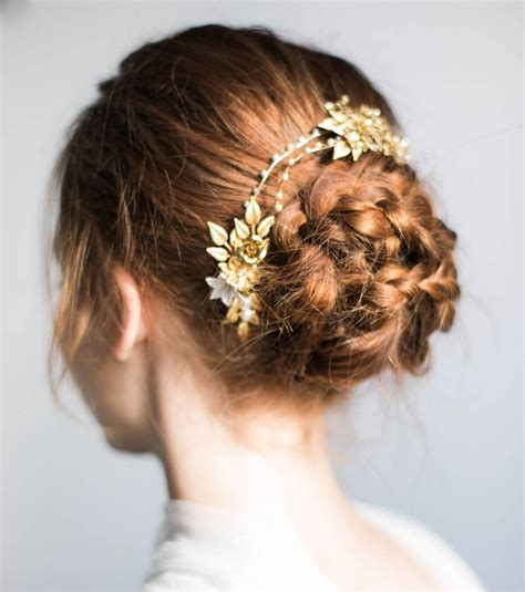 coiffure simple pour mariage chignon chignon simple mariage
