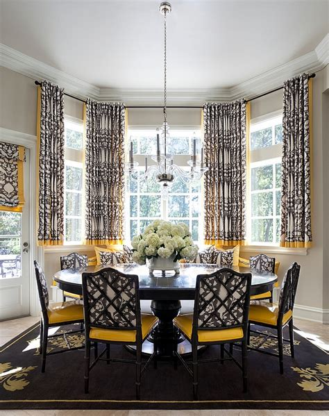 curtains for a yellow dining room curtain menzilperde net
