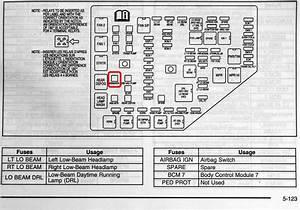 2003 Cadillac Cts Fuse Box Diagram