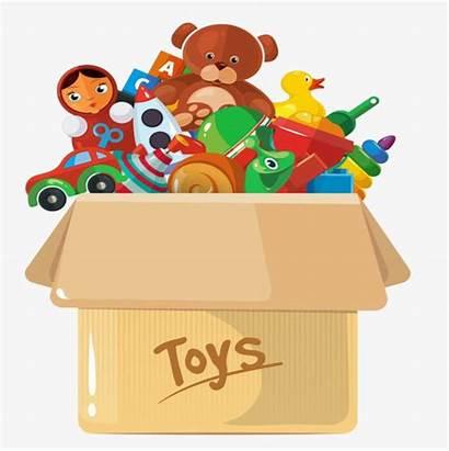 Toy Clipart Bin Toys Juguetes Caja Clean