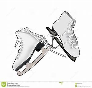A Pair Of Ice Skates Stock Photos - Image: 30991163