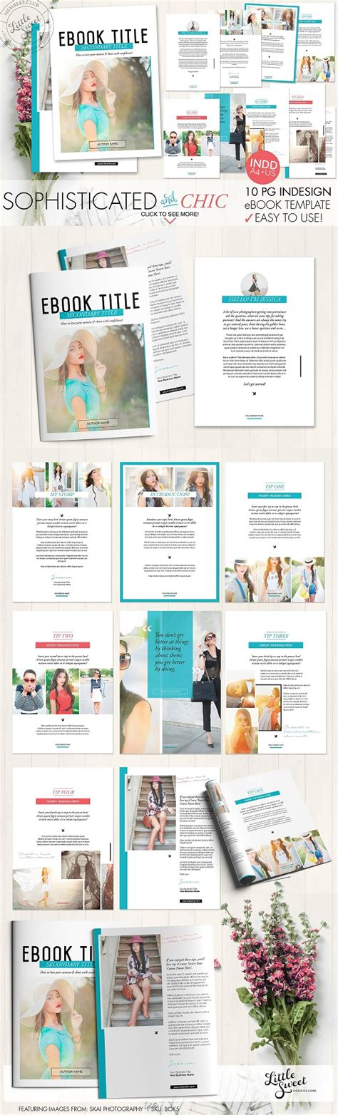 indesign ebook template graphic photoshop vectors wallpaper 10 page indesign indd ebook template