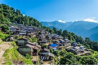 Village Sikles Trek Nepal Trekking Ghandruk Millennium