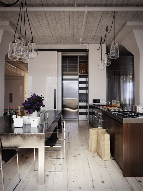 Industrial Style Kitchen modern industrial kitchen in 44 awesome photos my