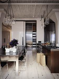 Modern industrial kitchen in 44 awesome photos | My ...