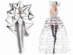 Image Gallery lady gaga croquis