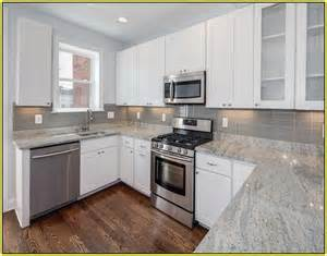 white kitchen cabinets with gray granite countertops home design ideas
