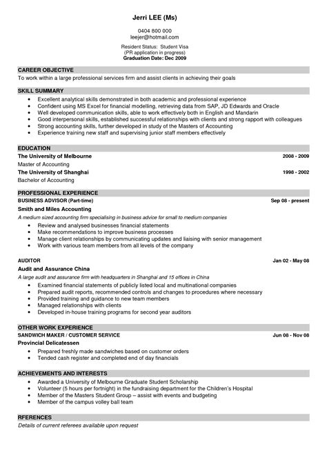 write  good resume sample letters  sample