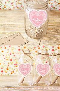 diy wedding love notes once wed With letters in a jar