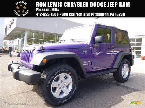jeep purple 2017 2017 xtreme purple pearl jeep wrangler sport 4x4