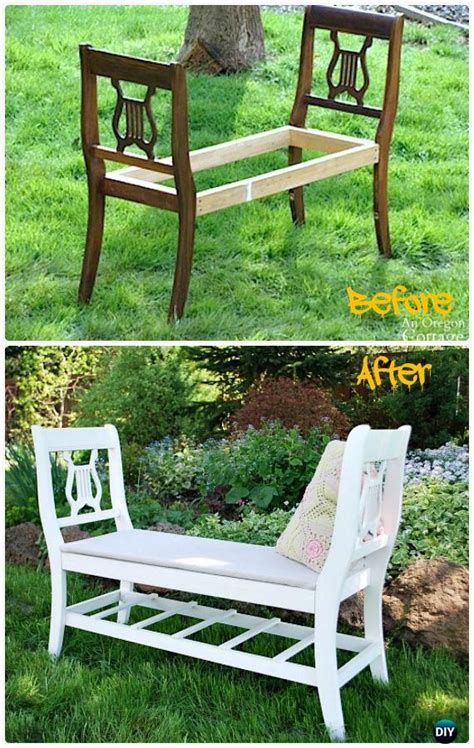 diy outdoor garden bench ideas  plans instructions