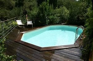 Petite Piscine Hors Sol Bois : amnagement piscine hors sol amnagement paysager duune ~ Premium-room.com Idées de Décoration