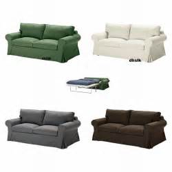 ikea ektorp sofa bed slipcover sofabed cover svanby green
