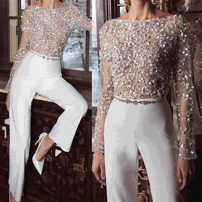 Elegant Jumpsuit Jumpsuits Pure Colour Splicing Sequins
