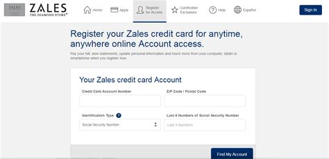 zales credit card login creditcardmenucom
