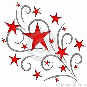 Red Shooting Star Clip Art - Pics about space