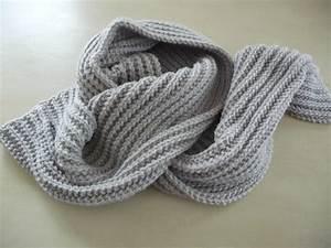 Echarpe Homme Tricot : laine pour tricoter des echarpes grosse echarpe homme ~ Melissatoandfro.com Idées de Décoration