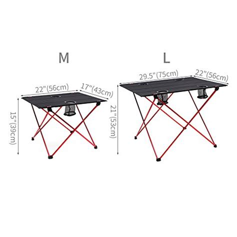 kitchen table of color press outry lightweight folding table with cup holders portable 9602