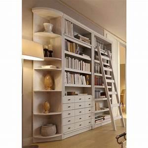 Bibliothèque En Pin : biblioth que 5 niveaux 5 tiroirs en pin massif style anglais home affaire maison ~ Teatrodelosmanantiales.com Idées de Décoration
