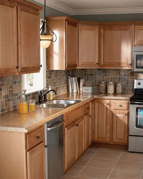 backsplash for kitchen you don t to wait for cabinetry the home depot 4546