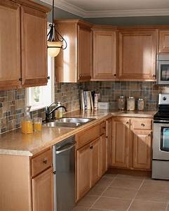 Kitchen cabinets pre built cabinets home depot built in for Kitchen cabinets lowes with papier peint papillons