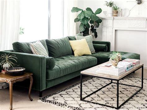 canapé en velours inspirations pour un canapé en velours canapé velours