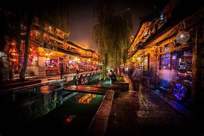 Lijiang China Dark Yunnan Night