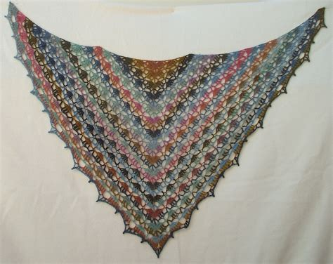 Elise Crochet Shawl Pattern
