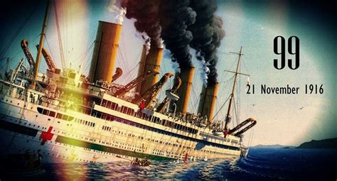 britannic sinking in 5 minutes 19 best images about britannic sank and sinking on