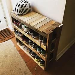 top 25 best shoe rack pallet ideas on diy