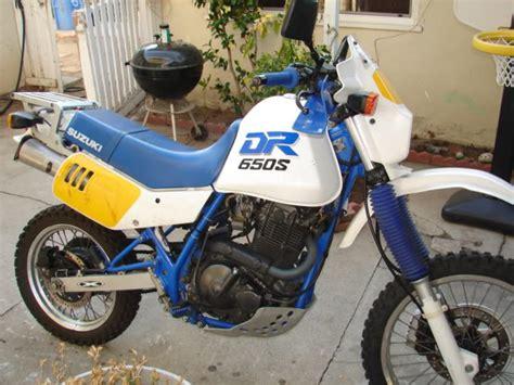 1990 Suzuki Dr650 by 1990 Suzuki Dr 650 Rs Reduced Effect Moto Zombdrive