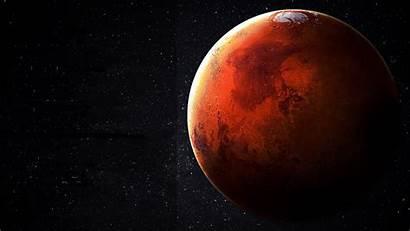 Mars Planet Milky Space Way Illustration
