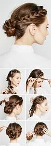 Tresse Facile à Faire Soi Même : chignon facile cheveux long a faire soi meme ~ Melissatoandfro.com Idées de Décoration