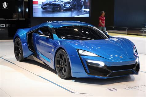 Lykan Hypersport Fastest Car In The World With Tops Speed