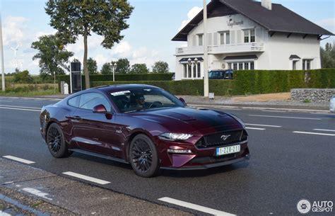 2018 Mustang Gt ford mustang gt 2018 12 september 2017 autogespot