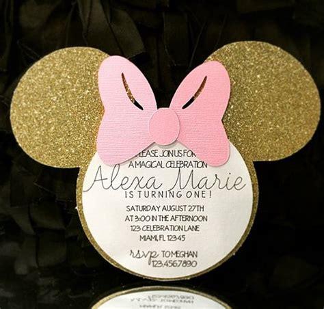 fiesta infantil de minnie mouse rosa  dorado  curso de organizacion del hogar
