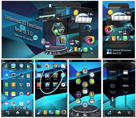 3d launcher for android next launcher 3d shell lite 3 10 for android apk